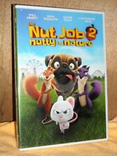 The Nut Job 2: Nutty by Nature (DVD, 2017) NEW animated Will Arnett Jackie Chan