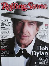 BOB DYLAN 2012 ROLLING STONE Magazine MADONNA GREEN DAY WALKING DEAD HOMELAND