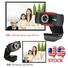 HD 720P Megapixels USB 2.0 Webcam Camera with MIC for Computer PC Laptops US