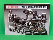PENTAX Vintage Camera Manuals & Guides