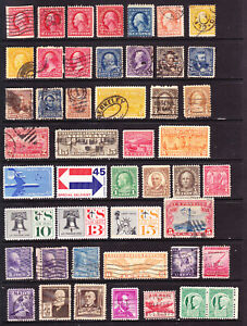 USA good mint & used mix  see 3 scans  L6318