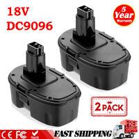 2PACK Upgraded for DeWalt 18V 18 Volt XRP Battery DC9096 DC9098 DC9099 DW9095