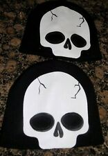 2 X HALLOWEEN BEANIE HAT / SKULL MASK NEW