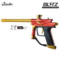 Azodin Blitz 3 Electronic Paintball Gun - Orange New Free Shipping