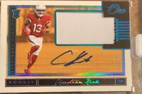 2018 PANINI ONE CHRISTIAN KIRK AUTO PATCH ROOKIE RC #2/99 RPA ON CARD AUTO #2!