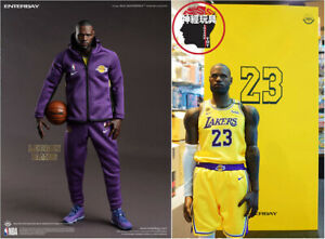 ENTERBAY X TAIWAN LAKERS Limited Edition LEBRON JAMES 1/6 ACTION FIGURE RM-1084