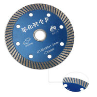 4 Inch Diamond Saw Blade Cutting Disc For Glass Tiles Stone Ceramic 105x20x1.2mm