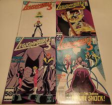 LEGIONNAIRES 3 complete 4 issue mini series #1-4 DC Comics 1986