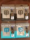 Lot of 4 Selfie Flash Works With Any Android or iPhone With Aux Port