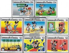 dominica 1268-1275 (complete issue) unmounted mint / never hinged 1989 Hollywood