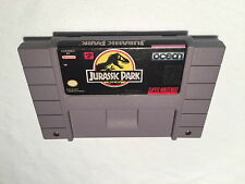 Jurassic Park (Super Nintendo SNES) Game Cartridge Excellent!