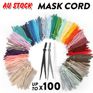 3mm Round Soft Elastic Cord For Face Masks Strap (Price per  Bundle)