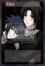 YUGIOH Cool Anime Orica Token Naruto Uchiha Itachi & Sasuke  # 534