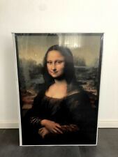 Ikea x Off White Virgil Abloh Markerad MONA LISA Gemälde neu ungeöffnet