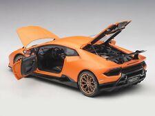 Lamborghini Huracan Lp640-4 Performante 2017 Matt Orange AUTOART 1:18 AA79152