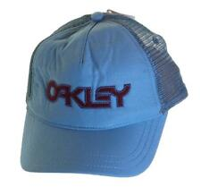 Bnwt Authentic Oakley Epoch Trucker  Baseball Cap Hat New With Tags Blue