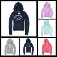 New Abercrombie & Fitch A&F By Hollister Women Jana Hoodie Sweat Shirt Pull Over