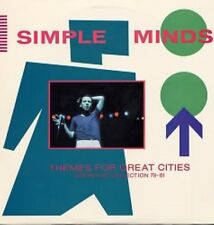 Simple Minds Themes For Great Cities Lp Stiff Records