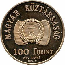 1998 Hungary 100 Forint PROOF / Revolution of 1848