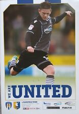 COLCHESTER UNITED v MANSFIELD TOWN 2017/18