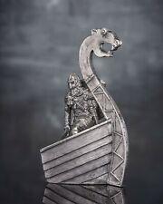 Viking 1/32 Action Figurine Handmade Tin Metal Antique Toy Soldier 54mm