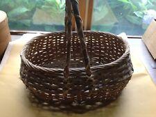 New ListingVintage Garden Splint Gathering Basket