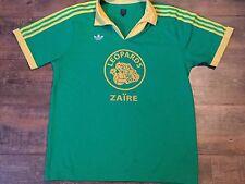 1970's Zaire Adidas Originals Adults Large Football Shirt Top Jersey