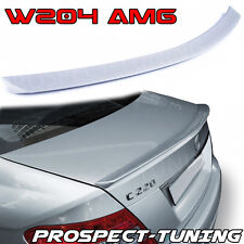 *PT Mercedes-Benz C-Class W204 Rear Boot Trunk Spoiler Lip Wing Sport Trim AMG