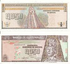 Guatemala-Queztal 0.50 16. 7. 1992 UNC Pick 79