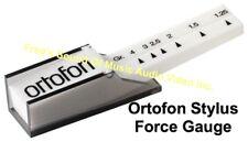 "ORTOFON STYLUS FORCE GAUGE TURNTABLE CARTRIDGE ""NO BATTERIES!"" 1.25g - 4 grams"