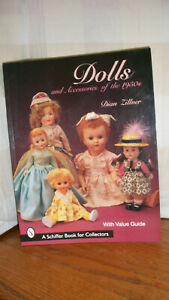 Dolls and accessories of the 1950s BOOK dian zullner paper back