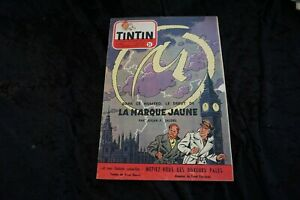 Tim und Struppi Tintin Magazin Nr. 31 1953 cover Blake und Mortimer