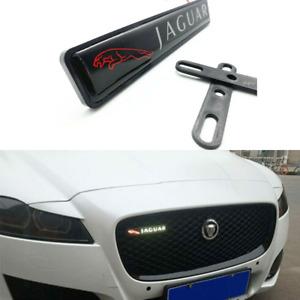 LED Light Logo Front Grille Badge Illuminated Decal Emblem For Jaguar XJ XE XF F