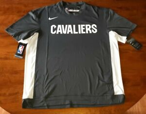 Nike Cleveland Cavaliers Grey Shooting Shirt Warm Up NBA Cavs Dri Fit
