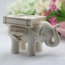 2X Elephant Tea Light Candle Holder Candlestick Wedding Favor Home Ornament
