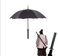 Japanese Samurai Man Sword Umbrella Katana fibers long-handled Umbrella Novelty