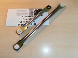 Fit Chevrolet Orlando 11-on Wiper Motor Linkage Mechanism Socket Repair Rod Kit.