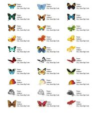 Personalized Address Labels Butterflies All Pictures Buy 3 get 1 free (but 2)