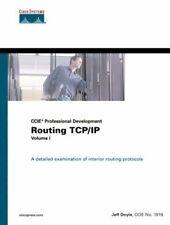Routing TCP/IP Volume I (CCIE Professional Developmen... by Doyle, Jeff Hardback