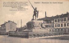 4914) LEGNANO (MILANO) MONUMENTO ALLA GRANDE BATTAGLIA. VIAGGIATA.