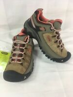 Keen Womens Targhee III Low Leather Athletic Hiking Trail Boots Size 7 brown