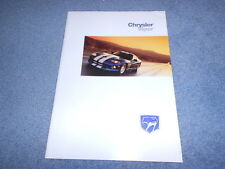 1998 CHRYSLER VIPER RT/10 GTS FRANCE DEALER SALES COLOR BROCHURE FRENCH TEXT