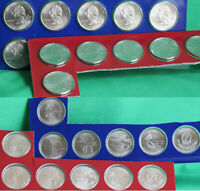 2009 P and D Quarter Set DC and US Territories 12 Coins Territory 25 Cents
