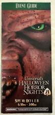 Halloween Horror Nights HHN 21 2011 Lady Luck Monster Event Guide