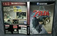 The Legend of Zelda Twilight Princess (Nintendo GameCube, 2006) Complete