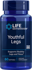 2 Bottles - Life Extension Youthful Legs - 60 Softgels each - Newest Expiration!