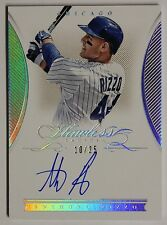 $$ 2016 Flawless Anthony Rizzo ON CARD AUTO SP #10/25 CUBS HOT!!