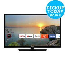 Hitachi 32 Inch HD Ready 720p Freeview Play Smart WiFi LED TV/DVD Combi - Black