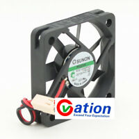 For SUNON MagLev KDE1205PFV2 DC12V..1.1W 50mmx10mm 2wire FAN