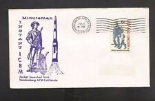 MINUTEMAN INSTANT ICBM ROCKET LAUNCHED JUL 12, 1968 VANDENBERG AFB, CA